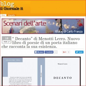 The Decanto newspaper