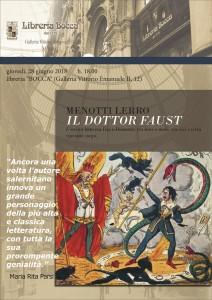 Locandina Presentazione il dottor Faust
