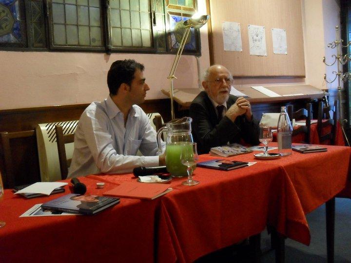 Menotti Lerro e Alessandro Serpieri
